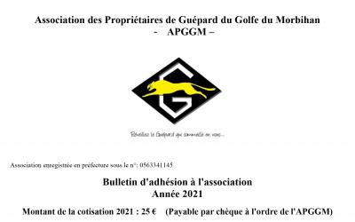 Bulletin Adhésion 2021